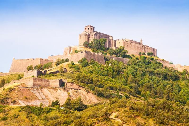 Castrum de Cardona, Barcinone,, Catalaunia