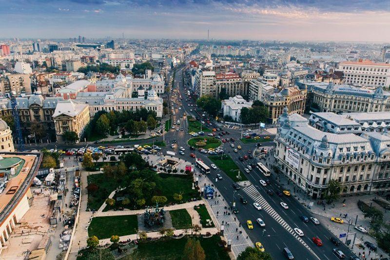 Bucharest view
