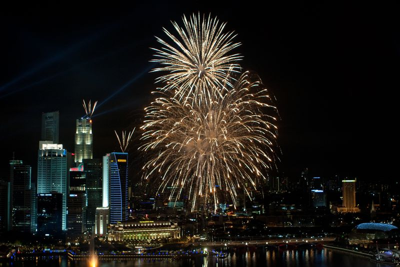 Garden By The Bay East Firework where to watch fireworks in singapore: best times and places