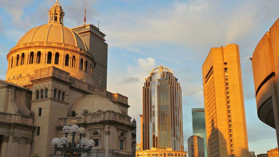 Μιξ παλιών και νέων αρχιτεκτονικών στυλ στη Βοστώνη