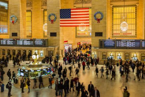 navidad en grand central station nueva york
