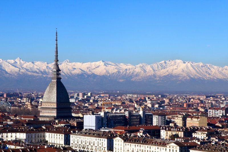 Torino, veduta della città