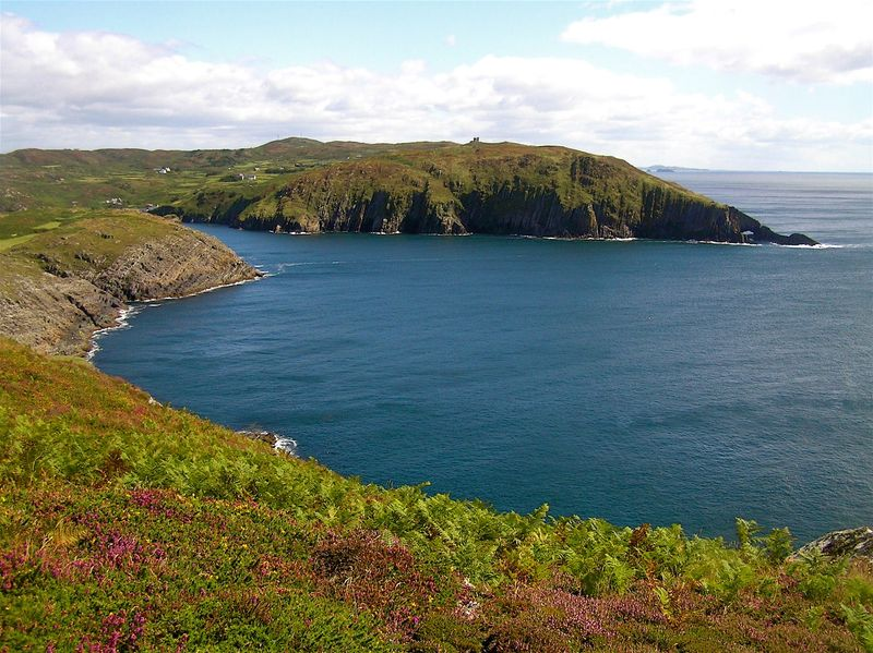 Coastline of Cape Clear, Ireland