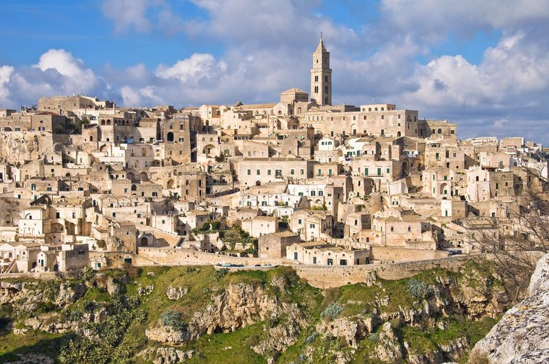 Italia, Basilicata, I sassi di Matera