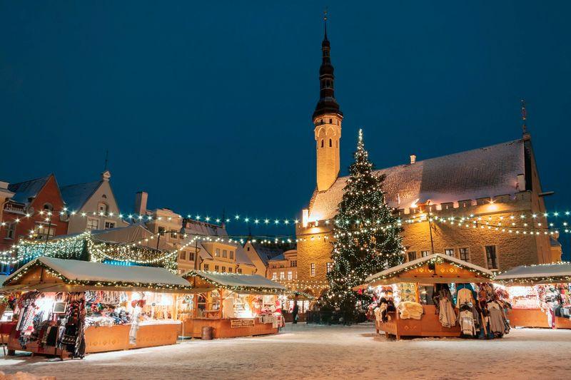 Tallinn mercatino natale