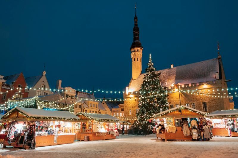 Mercatini di Natale più belli d'Europa: Tallinn, mercatino natale