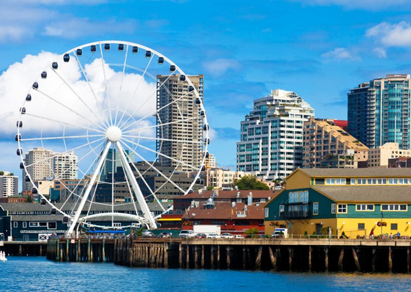 The downtown Seattle waterfront10 incredible things to see and do in Seattle. Restaurants Downtown Seattle Waterfront. Home Design Ideas