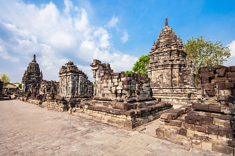 Ancient temples in Yogyakarta