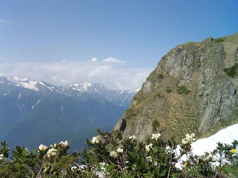 Горы недалеко от Красной Поляны