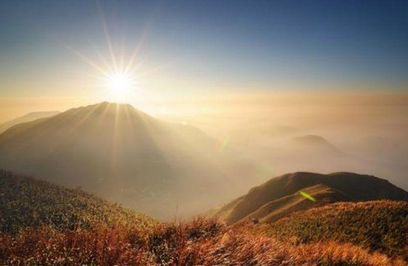 台灣最美第一道曙光-陽明山