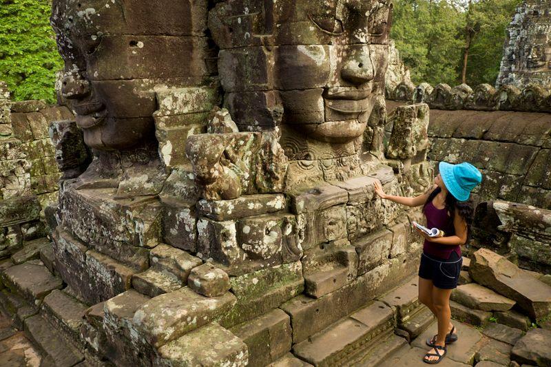 The fabulous ruins of Angkor Wat