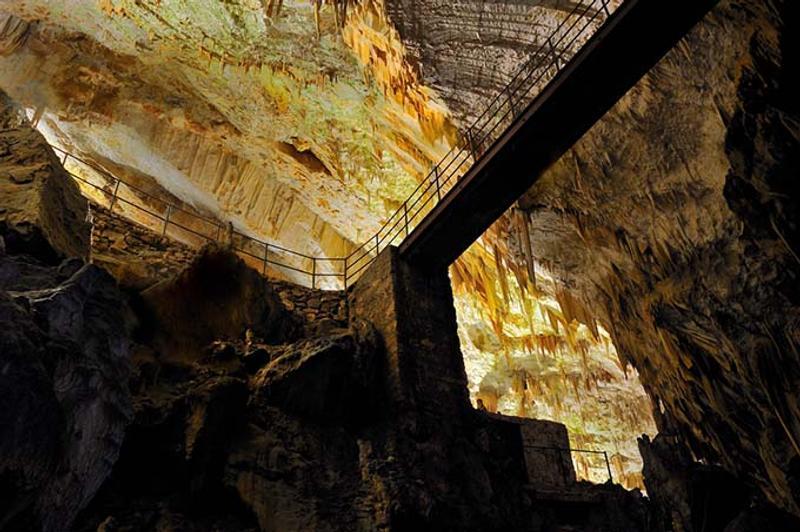 cuevas de postjona eslovenia