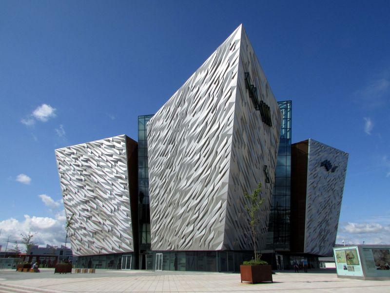 Impressive Titanic Belfast structure