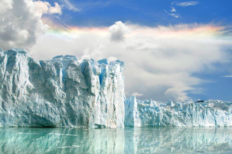 glaciar perito moreno en argentina patagonia