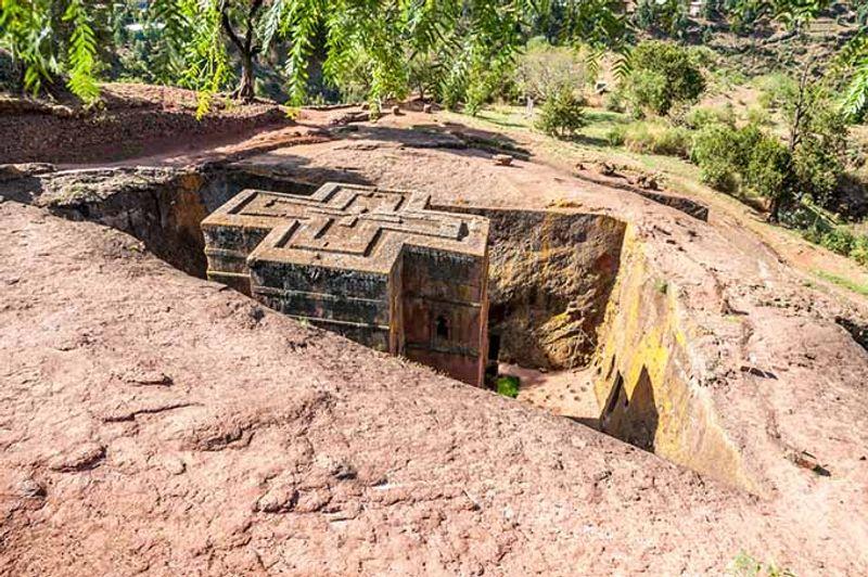 iglesia lalibela etiopía