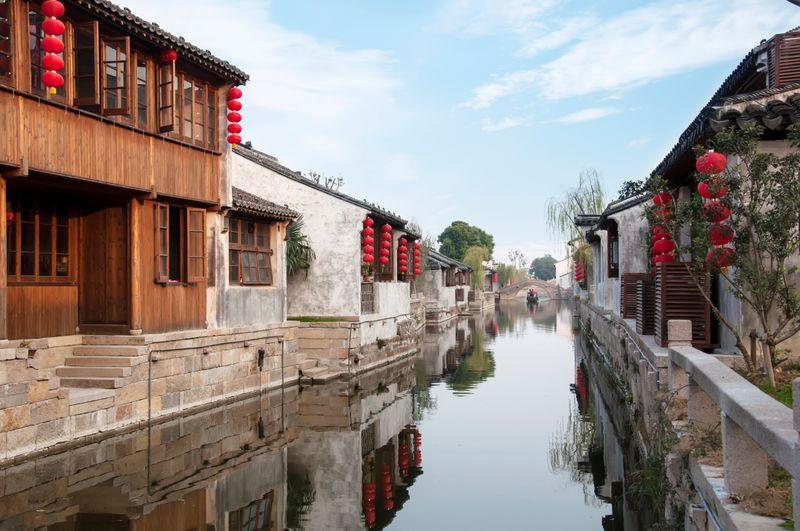 Китайская Венеция: город на воде Чжоучжуан