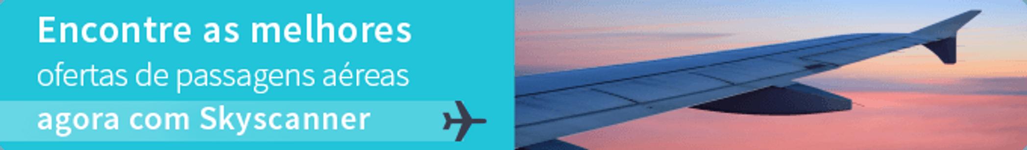 Passagens aéreas Skyscanner