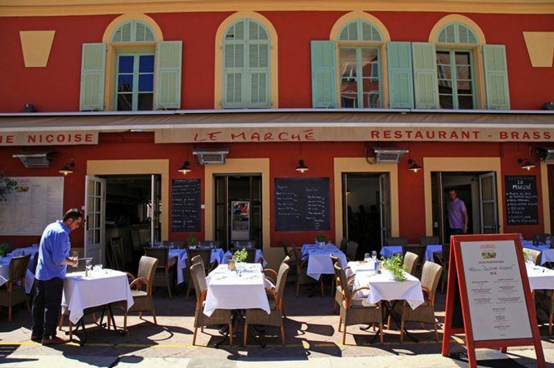 Restaurant cours Saleya