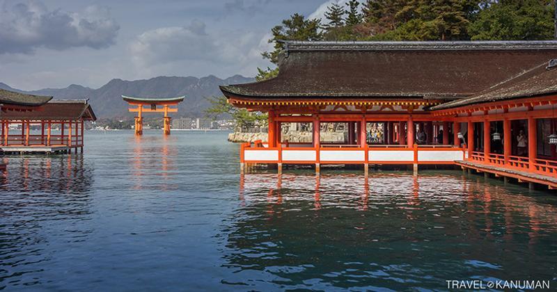 เกาะมิยาจิม่า (Miyajima) ที่ฮิโรชิม่า (Hiroshima) ญี่ปุ่น