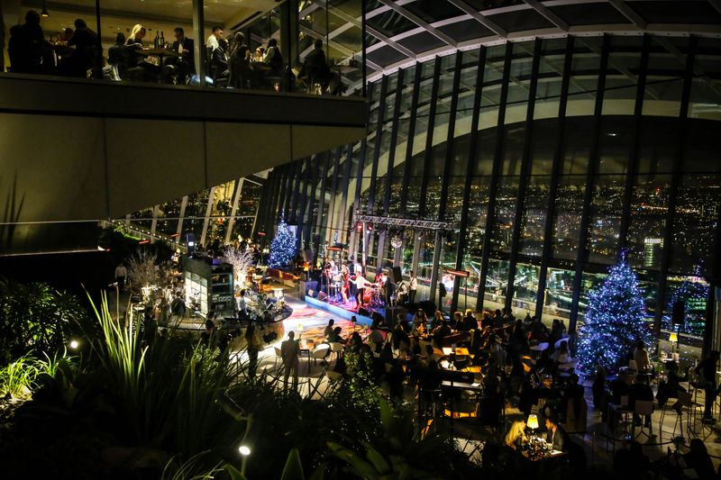 Great Gatsby Party, Sky Garden, London