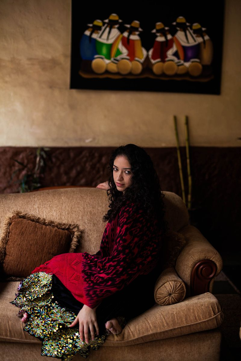 "Жительница Эквадора из фотопроекта Михаэлы Норок ""Атлас красоты"""