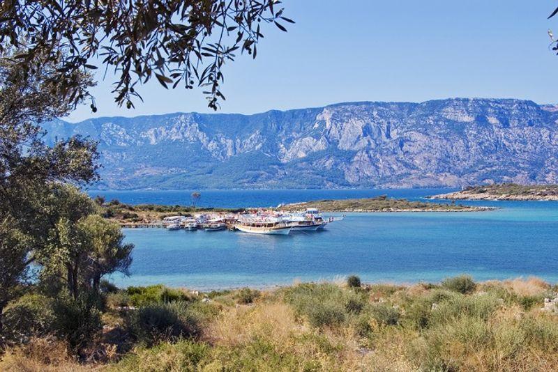 Остров Седир, Турция