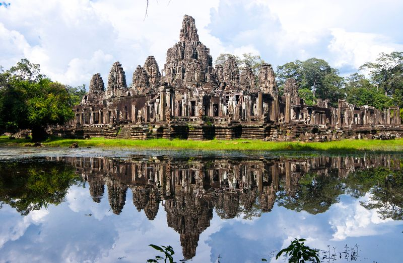 Angkor Wat Archaeological Park near Siem Reap in Cambodia