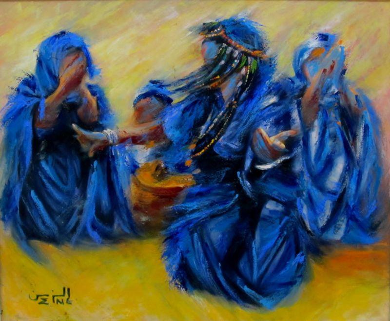 Совеременное марокканское искусство
