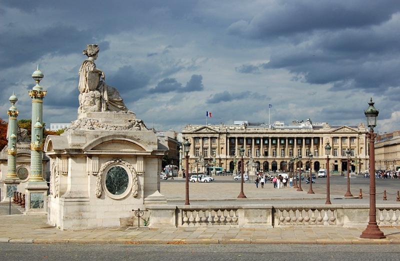 Plaza de la concordia parís