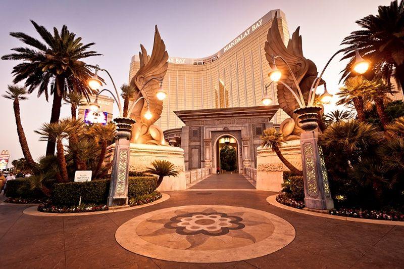 The Mandalay Bay Resort and Casino befindet sich im südlichen Teil des Strips.