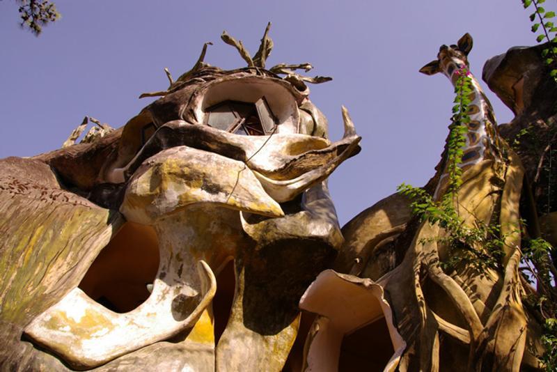 """Гестхаус """"Crazy House"""" в Далате, Вьетнам"""