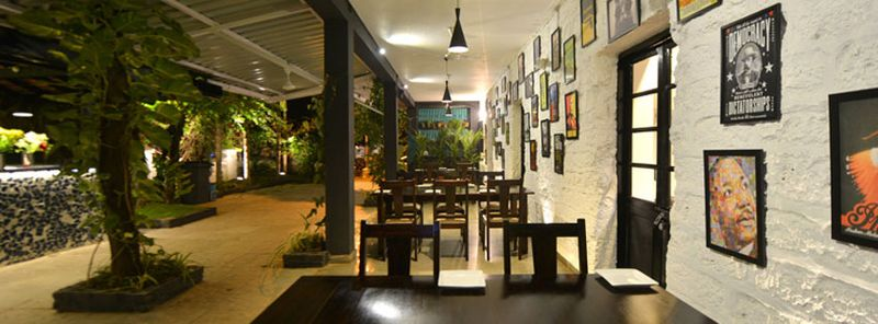 Relaxing surroundings at Panjim's best steakhouse