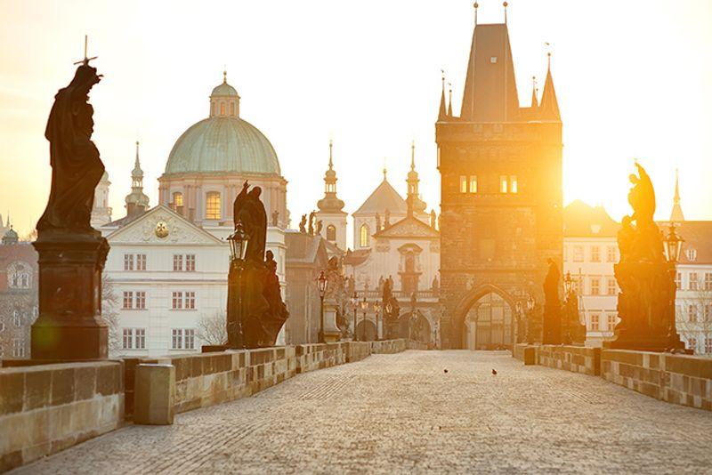 Достопримечательности Праги: Карлов мост.