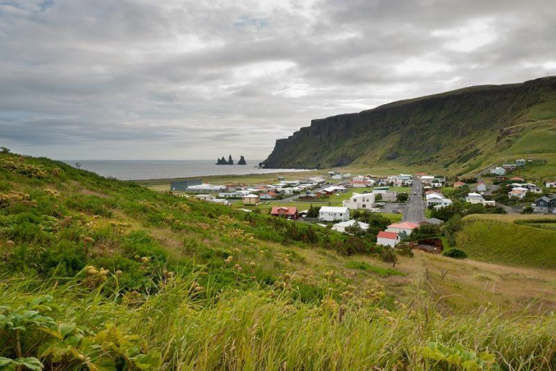 Landscape near Vik, Iceland