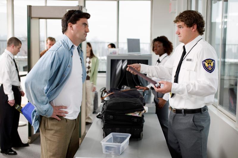 Control de seguridad aeropuerto