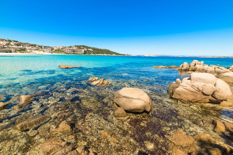 The beaches of the Costa Smeralda, Sardinia