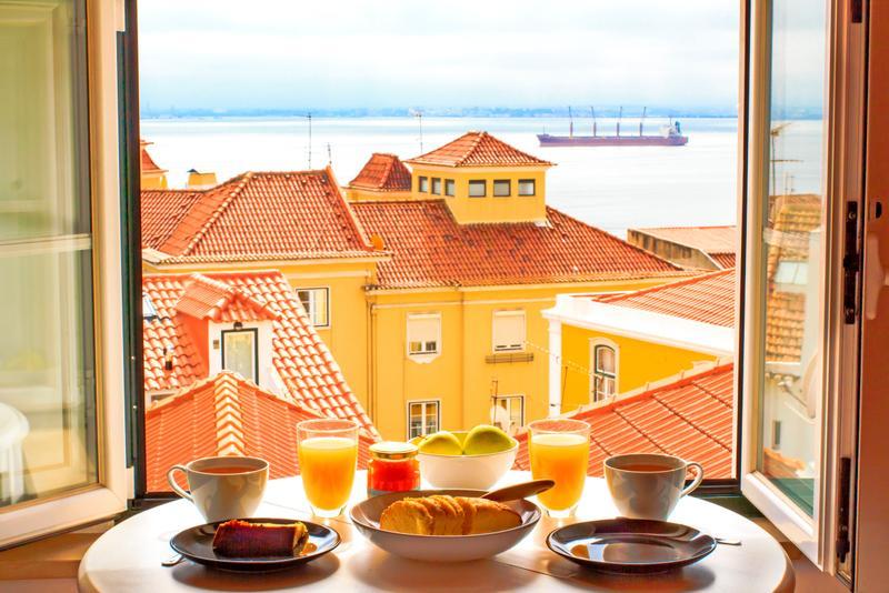 Λισαβόνα θέα στο λιμάνι