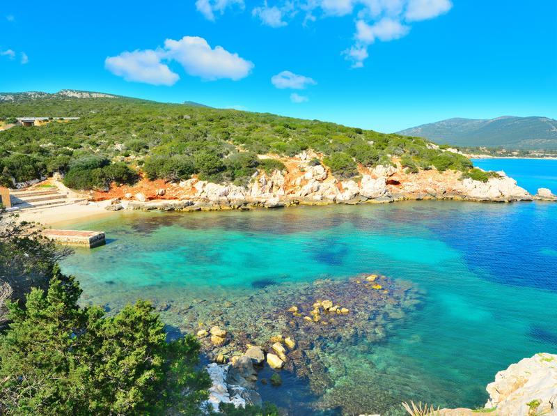 Cala Dragunara, Sardinien