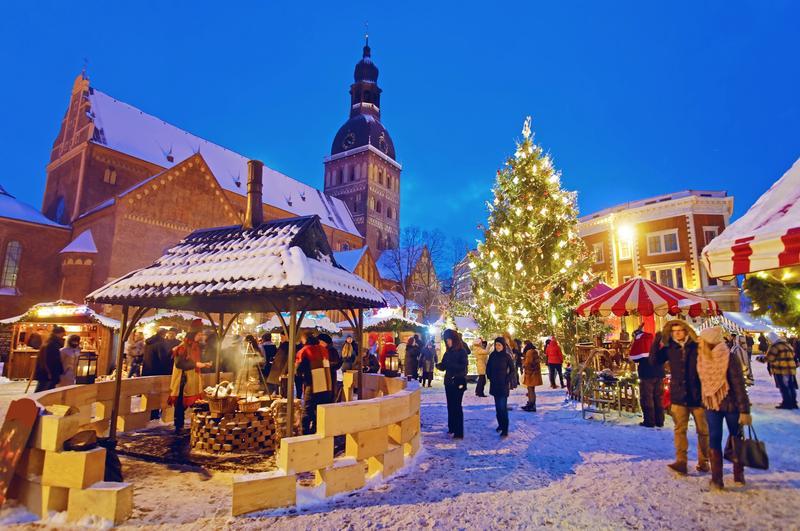 Mercatini di Natale più belli d'Europa: mercatini a Riga