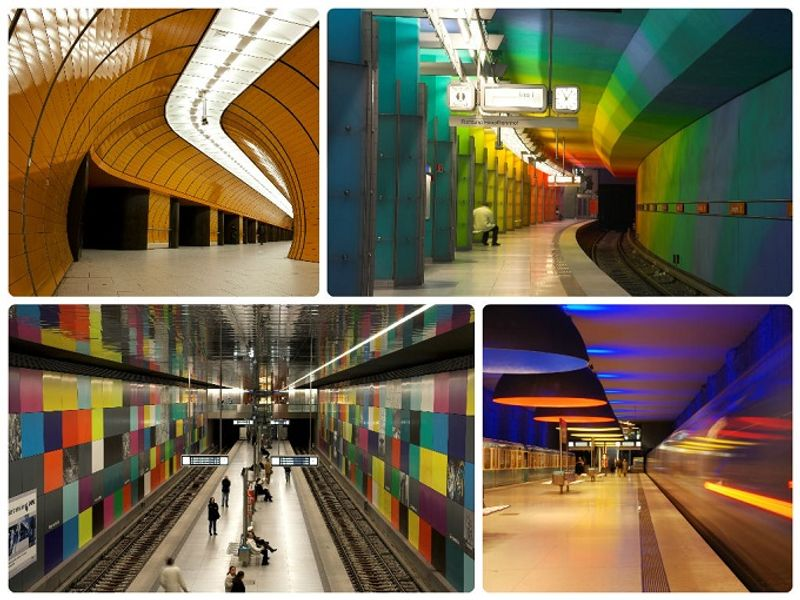 15 most beautiful underground stations in pictures. Black Bedroom Furniture Sets. Home Design Ideas