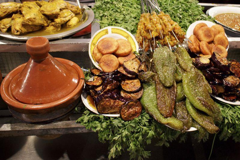 Традиционная марокканская еда