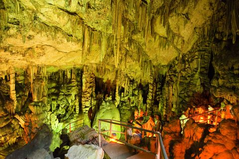 Kommt der griechischen Mythologie ganz nah in der Höhle des Zeus.