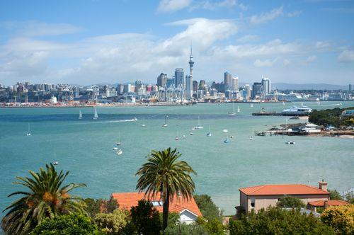 ニュージーランド行きの航空券
