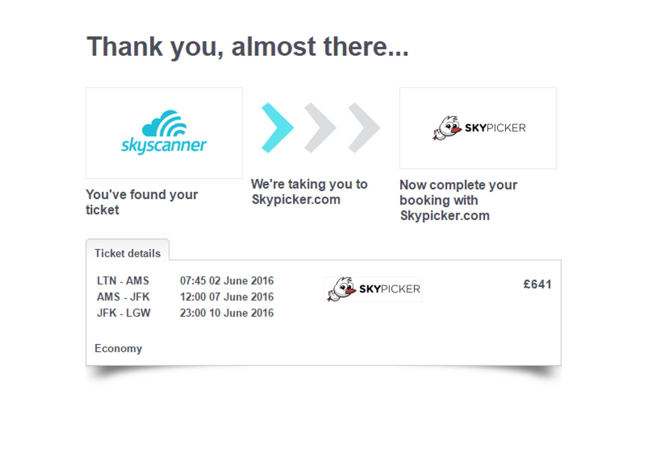 How to search for multi stop flights with Skyscanner