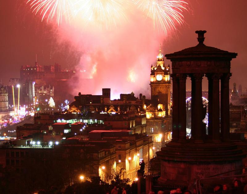 A dónde ir en diciembre: Edimburgo
