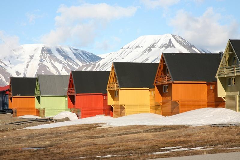 Le citt pi colorate del mondo for Colore esterno casa simulatore