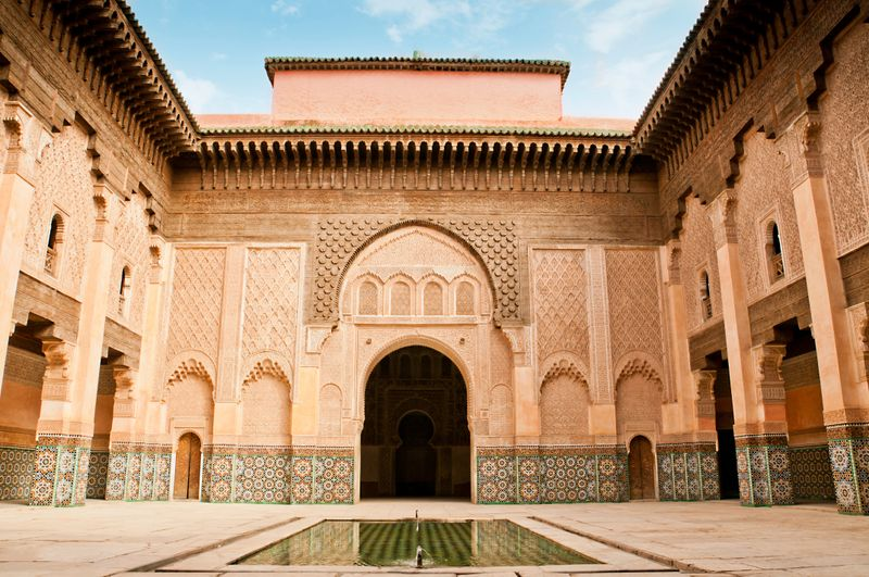 Courtyard in Marrakesh Museum