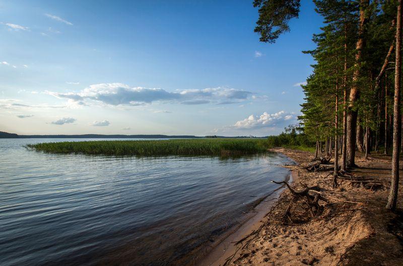 Озеро Селигер в России