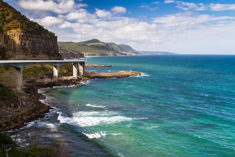 The Grand Pacific Drive, south of Sydney