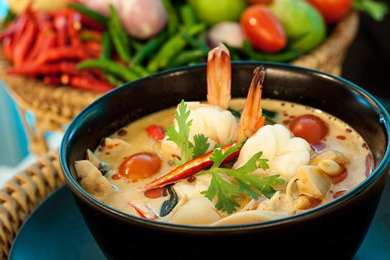 Суп Том Ям - звезда тайской кухни